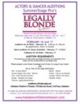 Legally Blonde Audition